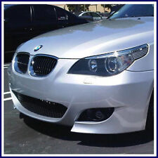 2008-09 BMW E60 M5 STYLE FRONT BUMPER W/ CLEAR FOG LIGHTS FOR 5 SERIES W/ PDC