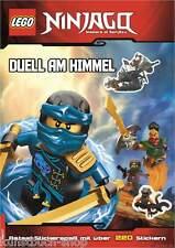 Fachbuch LEGO® Ninjago™ Duell am Himmel, mit Stickern zum Selbstgestalten