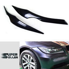 BMW E90 HEADLIGHT LAMP COVER TRIM EYEBROWS EYELIDS SEDAN 4D 330i 325i 328i 06