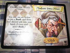 HARRY POTTER TCG DIAGON ALLEY MADAM IRMA PINCE 21/ 80 RARE ENGLISH MINT NEUF