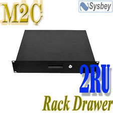 "2U 19"" Rack Mount Drawer 2RU Draw 14 inch deep for Server Comms Data cabinet"