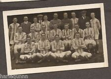 1922 CHUMS FOOTBALL TEAMS REAL PHOTO NO. 11 WEST BROMWICH ALBION