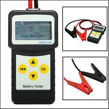 12V 30-200Ah Car Battery Tester Vehicle Battery Analyzer Tester AGM CCA MICRO200