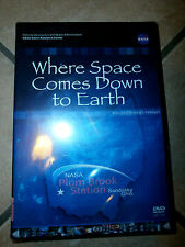 WHERE SPACE COMES DOWN TO EARTH DVD Plum Brook Station NASA Sandusky Ohio