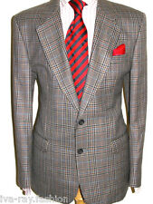 MENS DAKS LONDON VINTAGE PRINCE OF WALES CHECK TWEED JACKET UK 40 REGULAR