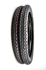 IRC NR58 Moped Front/Rear Tires 2.00-17 TT 27S (Set of 2)  T10075