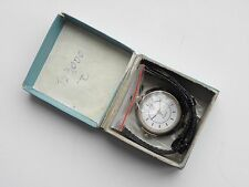 NOS Rare Chaika Womens First Soviet quartz watch with mobile lugs original strap