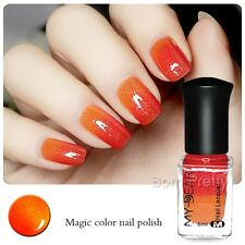 6ml Thermolack Peel Off Farbwechsel Nagellack Nail Color Changing Polish 23809