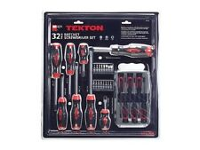 TEKTON 91718 32-pc. Ratchet Screwdriver Set