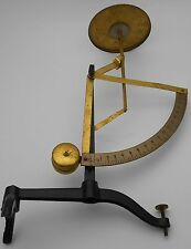 UNUSUAL VINTAGE LEVER ARM BALANCE SCALES - 18oz max by 1/4oz