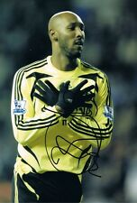 Signed Nikolas Anelka Chelsea Autograph Photo France