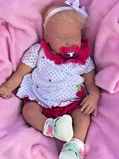 """Reborn Baby Girl Doll 20"""" and 6 lbs"""