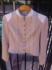RED VALENTINO  Lace Knit  JACKET BLOUSE SIZE S Retail for $ 550