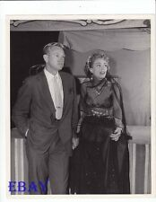 David Brian Joan Crawford sexy VINTAGE Photo Flamingo Road candid on set