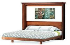 Murphy Horizontal / Side King Wall Bed Frame, Woodworking Plans, 1KHWB