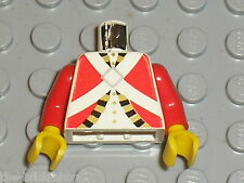 LEGO Pirates Minifig torso Imperial Guard 973p3q / Set 6277 6279 6263 6258 6271