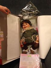 "Weighted 20"" Adora Wizard Of Oz Scarecrow Baby Doll New In Box Certificate Hat +"