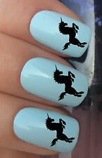 NAIL ART SET #301. x24 FANTASY CREATURE UNICORN WATER TRANSFERS/DECAL/STICKERS