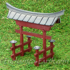 New Vivid Arts Miniature World -Japanese Miniature Garden- Temple Gate-15cm Tall