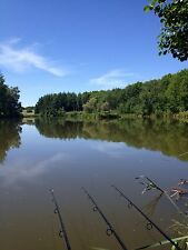 Carp Fishing Holiday In France.  Secure Private Lake & Lodge Facilities.