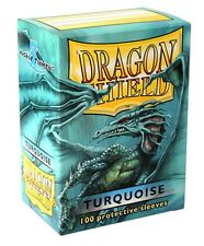 Wargaming MTG BNIB Dragon Shield Standard Size Sleeves 100 ct. Turquoise