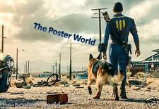 SET OF 2 FALLOUT 4 GAME POSTER HOME ART PRINT / WALL DECOR