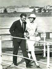 ROBERT LANSING DANA WYNTER  DANGER HAS TWO FACES 1968 VINTAGE PHOTO ORIGINAL #16