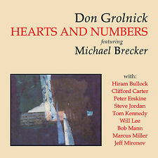 MICHAEL BRECKER, DON GROLNICK - HEARTS AND NUMBERS - CD - ART OF LIFE RECORDS