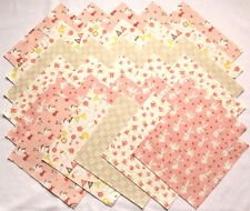 """SWEET BABY Flannel designed by Abi Hall for MODA - (30) 6.5"""" rotary-cut squares"""