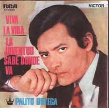 "PALITO ORTEGA 7""PS Spain 1969 Viva la vida"