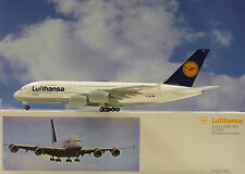 Limox Wings 1:200 Airbus A380 Lufthansa Francfort D-AIMA + Herpa Wings Catálogo