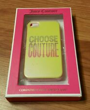 Juicy Couture iPhone 4/4S Case Silicone Cover, NIB $28