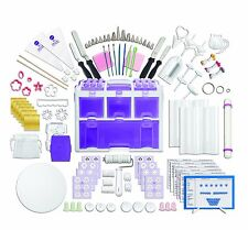 NEW! Wilton 2109-0309 Ultimate Professional Cake Decorating Set, Purple