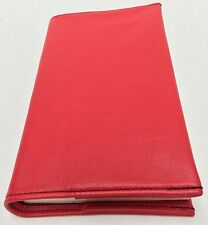 AA Big Book Red Leather Book Cover For Paperback version