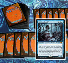 mtg BLUE ZOMBIES DECK Magic the Gathering rare cards Geralf Skaab Ruinator