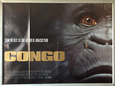 Cinema Poster: CONGO 1995 (Quad) Laura Linney Tim Curry Dylan Walsh Ernie Hudson