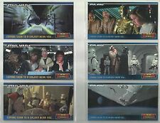 1994 Star Wars: A New Hope (Widevision) PROMO SET of 6 Cards #SWP1-2-3-4-5-6