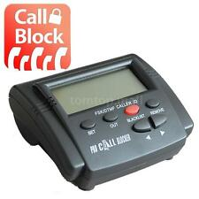 CT-CID803 Caller ID Blocker Box Stop Nuisance Dual Signal FSK/DTMF Black US F9F4