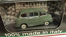 FIAT 600D MULTIPLA POLIZIA STRADALE 1960  1:43 BRUMM Diecast Model Car