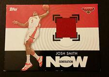 Josh Smith Hawks Oak Hill Academy 2007 Topps NOW Game Jersey Certified JG4