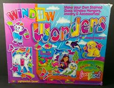 Lisa Frank Window Wonders Stained Glass Bears And Fantasy Kit