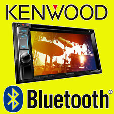"KENWOOD CAR CD DVD USB STEREO doppio din Bluetooth iPod iPhone 6.2 ""DAB Radio"