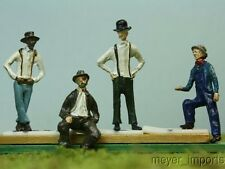 Railfolk! - O GA Figures - Set of Four! - O Scale - Steam Train Workers