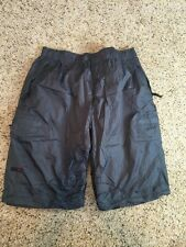 Men's Vans Shorts Gray Elastic Waist Looks Like Large See Pictures For Sizing Kd