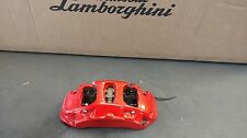LAMBORGHINI AVENTADOR LP700 LP720 FRONT RIGHT BRAKE CALIPER RED OEM 470615106T