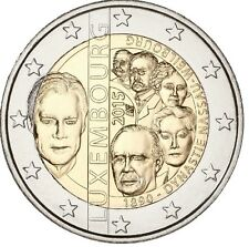 Luxembourg 2015 - 2 Euro Comm - 125th Ann. the House of Nassau-Weilburg (UNC)