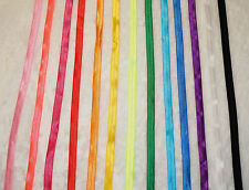 "26yds total Fold Over Elastic 5/8 "" 13 Color headbands hair ties Sewing。"