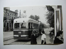 RUS115 - 1958 SARATOV CITY TRAMWAY - TRAM No100 PHOTO - Russia