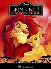 The Lion King II: Simba's Pride (PianoVocalGuitar Songbook)-ExLibrary