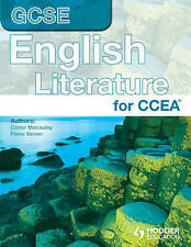 CCEA GCSE in English Literature - Macauley, Conor NEW Paperback 25 Feb 2011